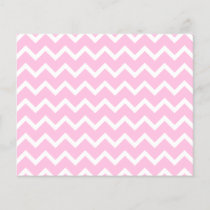 Pale Pink and White Zigzag Pattern.