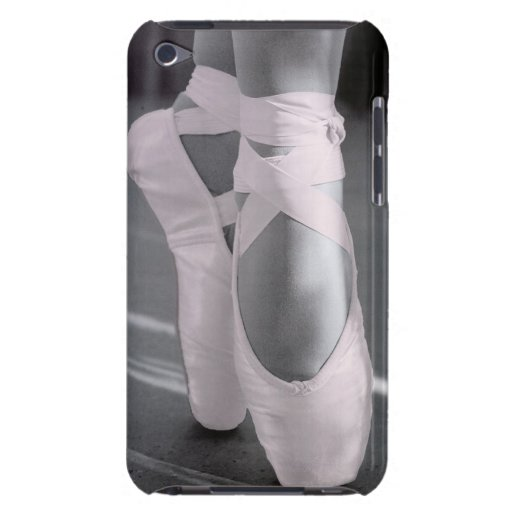 Pale Pink Ballet Shoes Barely There iPod Covers