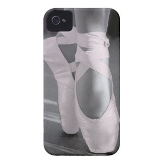 Pale Pink Ballet Shoes Case-Mate iPhone 4 Case