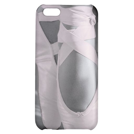 Pale Pink Ballet Shoes Cover For iPhone 5C