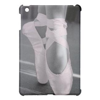 Pale Pink Ballet Shoes iPad Mini Cover