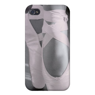 Pale Pink Ballet Shoes Case For iPhone 4