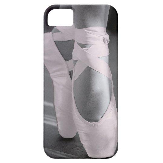 Pale Pink Ballet Shoes iPhone SE/5/5s Case