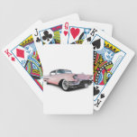 Pale Pink Cadillac Bicycle Card Deck
