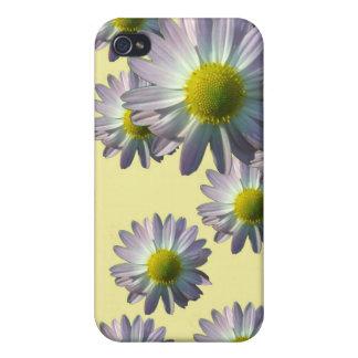 Pale Pink Chrysanthemum Design iPhone 4 Case