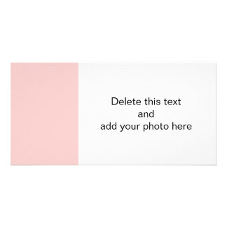 Pale Pink Classic Colored Card