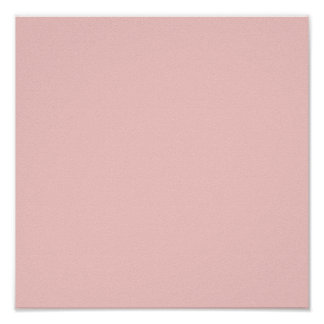 Pale Pink Classic Colored Poster