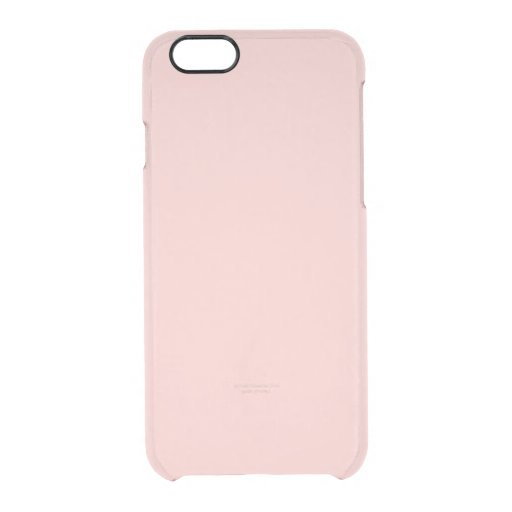 Pale Pink Classic Colored Uncommon Clearly(tm) Deflector Iphone 6 Case