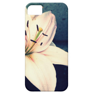 Pale Pink Daylily iPhone SE/5/5s Case