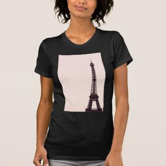 pale pink Eiffel Tower T-Shirt