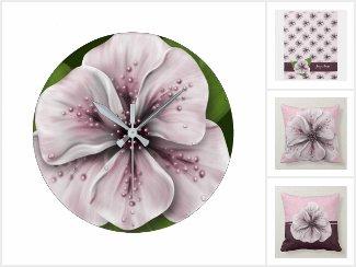Pale Pink Floral