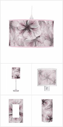Pale Pink Floral Home