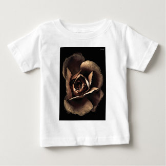 pale pink gray fashion flower baby T-Shirt