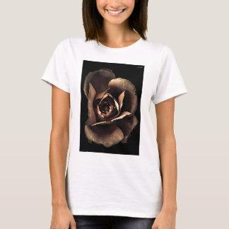 pale pink gray fashion flower T-Shirt
