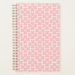 "Pale Pink Hearts Planner<br><div class=""desc"">A simple but pretty pink heart design for your planner. The hearts form a four-leaf clover pattern.</div>"
