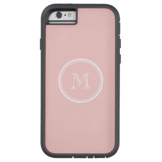 Pale Pink High End Colored Monogram Tough Xtreme iPhone 6 Case