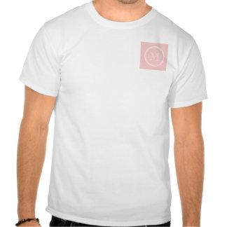 Pale Pink High End Colored Monogram Tshirts