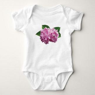 Pale Pink Hydrangea Kids Tshirts