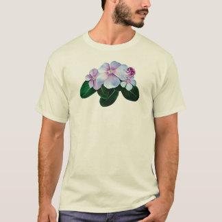 Pale Pink Impatiens Mens T-Shirt