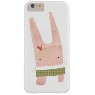Pale Pink little Rabbit Barely There iPhone 6 Plus Case