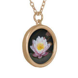 """""""PALE PINK LOTUS BLOSSOM"""" NECKLACE"""