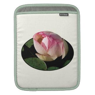 Pale Pink Lotus iPad Sleeves