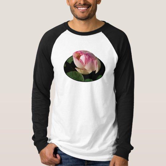 Pale Pink Lotus Mens T-Shirt