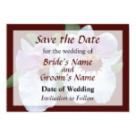 Pale Pink Orchid Save the Date Announcements