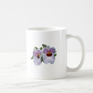 Pale Pink Orchids Mug