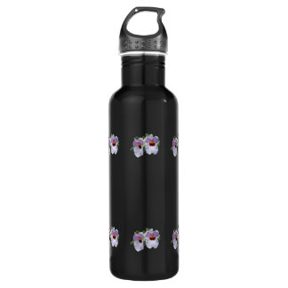 Pale Pink Orchids 24oz Water Bottle
