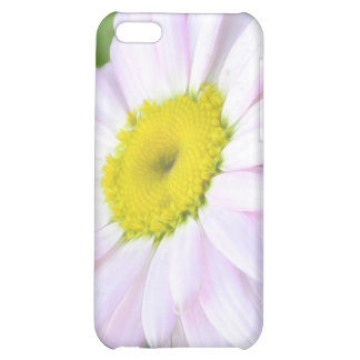 Pale Pink Painted Daisy Case For iPhone 5C