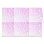 Pale Pink Pattern Greeting Cards