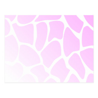 Pale Pink Pattern. Post Cards