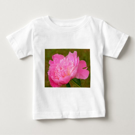 Pale Pink Peony Baby T-Shirt