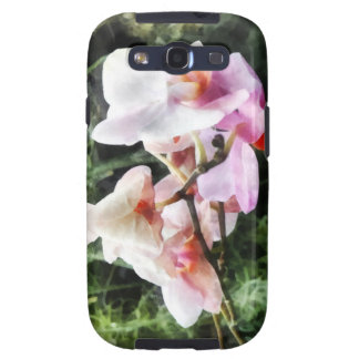 Pale Pink Phalaenopsis Orchids Samsung Galaxy S3 Cover