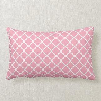 Pale Pink Quatrefoil Pillows