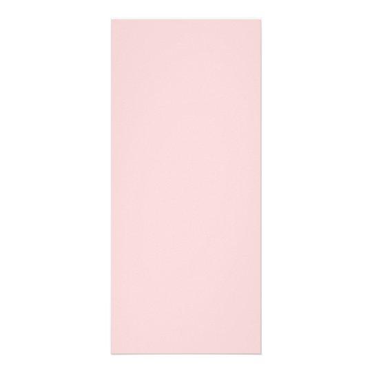 Pale Pink Rack Card