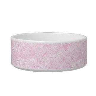 Pale Pink Random Background Pattern. Bowl