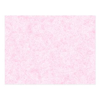 Pale Pink Random Background Pattern. Postcard