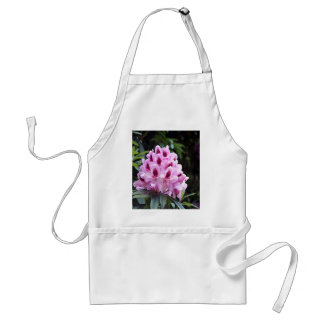 Pale pink rhododendron flower adult apron