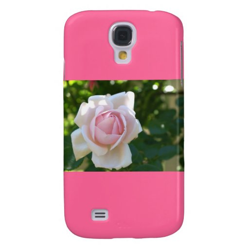 Pale Pink Rose Galaxy S4 Covers