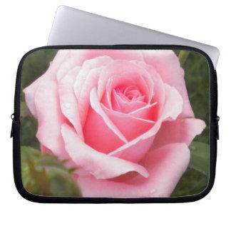 Pale Pink Rose Laptop Sleeve