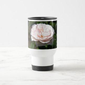 Pale Pink Rose Travel Mug