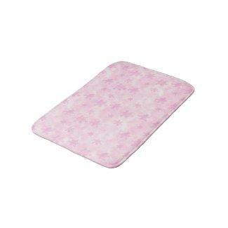 Pale Pink Stars Bath Mat