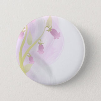 Pale Pink Watercolor Wash Pinback Button