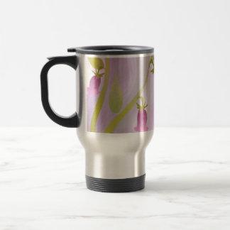 Pale Pink Watercolor Wash Travel Mug