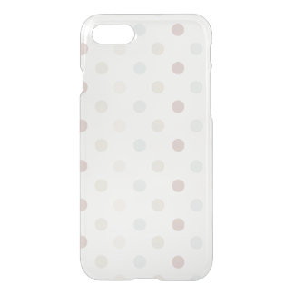 Pale Polka Dot iPhone 7 Case
