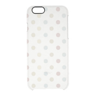 Pale Polka Dot Uncommon Clearly™ Deflector iPhone 6 Case