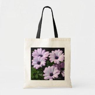 """Pale Purple Daisies"" Bags"