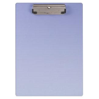 """Pale Purple Ombre"" Clipboard"